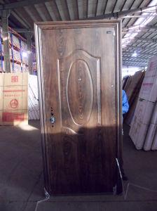Entry Security Steel Door (WX-S-111) pictures & photos