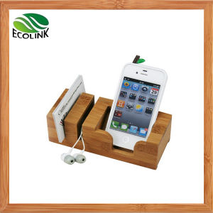 Bamboo Mobile Phone Holder/ Name Card Holder pictures & photos