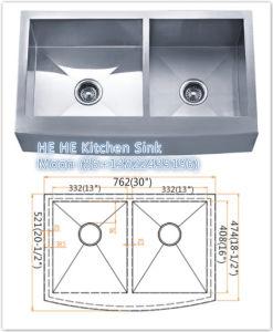 Handmade Apron Sink Hmdr3021d, Farm Sink pictures & photos