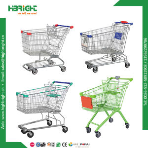 Supermarket Grocery Shopping Cart Trolley pictures & photos