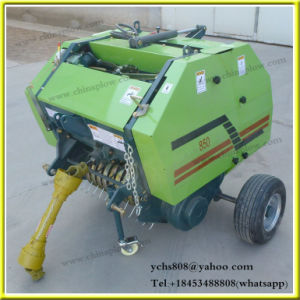 Hydraulic Press Machine Tractor Mounted Mini Round Baler pictures & photos