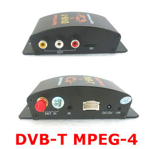 MPEG-4, MPEG-2, Avc, H. 264 Mobile Digital TV Tuner Receiver Car DVB-T