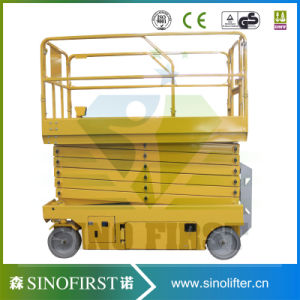 High Rise Hydraulic Window Cleaning Lift Scissor Lift for Sale pictures & photos