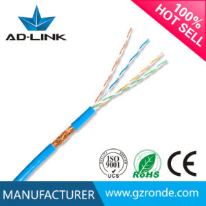 Cmr/CMP Solid PE Insulated SFTP Network Cable