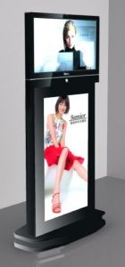 42inch and 55inch Dual Sides Touch Kiosk pictures & photos