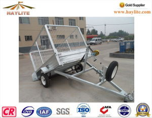 Haylite 7*5 Box Trailer with Hot DIP Galvanized pictures & photos