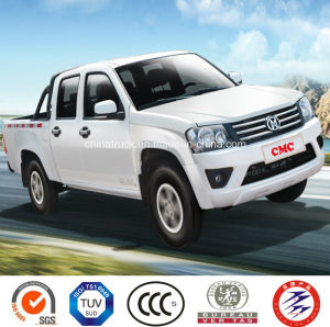 4X2 Petrol /Gasoline Double Cabin Pick up (Extended Cargo Box, Deluxe) pictures & photos