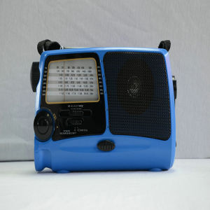 Newstylish Protable Hand Rechargeable Radio (HT-858) pictures & photos
