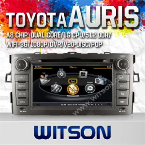 Witson Special Car DVD with GPS for Toyota Auris 2007-2011 (W2-C028) pictures & photos