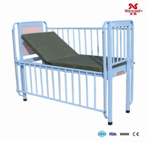 Iron and Steel Painted Children Bed