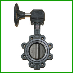 Hand Wheel Cast Iron Butterfly Valve pictures & photos