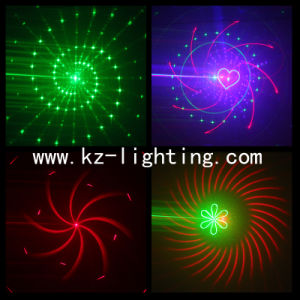 2 Holes Multi Color Programmable Laser Light pictures & photos