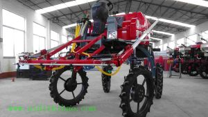 Aidi Brand 4WD Hst Self-Propelled Power Boom Sprayer for Dry Field and Farm pictures & photos