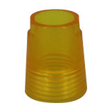 "G1/2"" Transparent ABS Conical Nut for Handshower (MS-1104)"