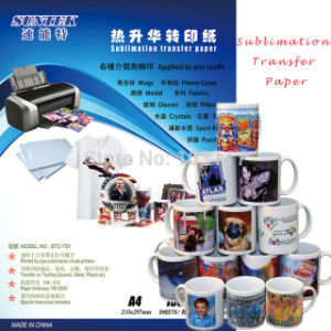 A3 A4 Roll Sublimation Heat Transfer Paper for Ceramic Mug pictures & photos