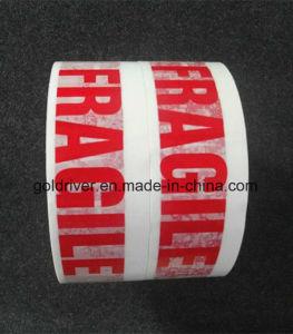 White & Red Fragile Tape (STK-072)