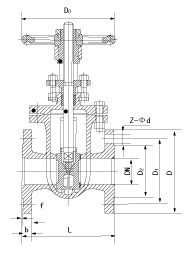Single or Double Disc Flat Gate Valve