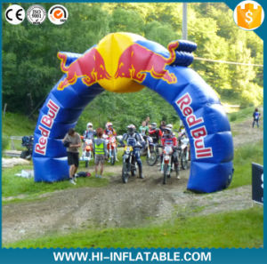 Red Bull Inflatable Finish Archway, Arch with Logo Printing