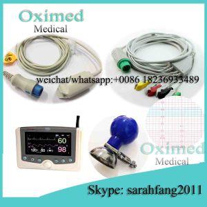 Schiller Truscope-Mini SpO2 Sensor Cable, 3/5 Lead Schiller Turscope-Mini ECG Cable