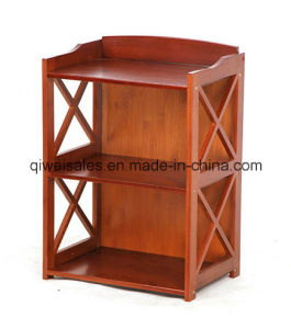 Bamboo Book Shelf Display Rack for Household pictures & photos