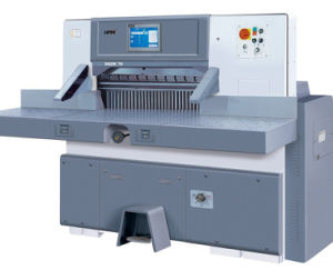 Hydrauli⪞ Program Control Paper Cutting Ma⪞ Hine (SQZK 1&⪞ aret; 8G M15) pictures & photos