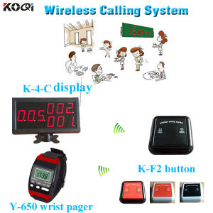 100% Original and Brand New Service Paging Equipment Wireless Caller System pictures & photos