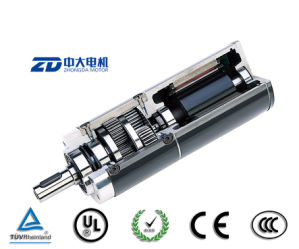 China 24v 60w brush brushless dc transmission planetary Dc planetary gear motor