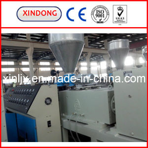 Sjsz 65/132 Plastic Conical Twin Screw Extruder pictures & photos
