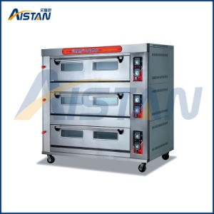 Htr-90q Factory Price up & Bottom Fire Is Controlled Separately 3 Layer-9 Tray Deck Oven for Food Machinery pictures & photos
