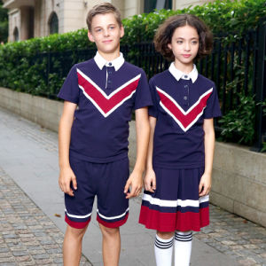 Wholesale School Uniform Polo T Shirts for Boys and Girls pictures & photos
