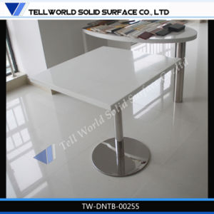 Resin Marble Dining Table Sets Restaurant Table Solid Surface Dining Table Sale pictures & photos
