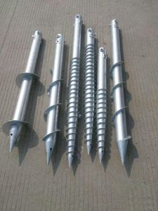 House Building Helical Screw Piles of China Manufacturer pictures & photos