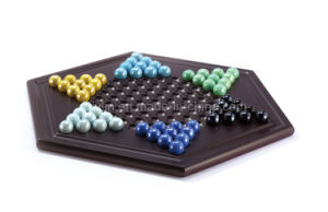 Deluxe Wooden Chinese Checkers Game