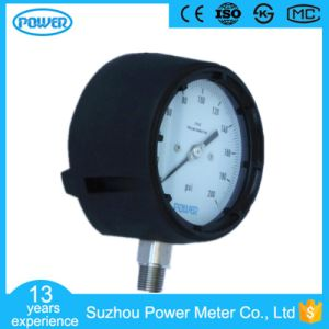 115mm Safety Type Phenolic Resin Pressure Gauge Manometer pictures & photos