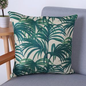 Digital Print Decorative Cushion/Pillow with Botanical&Floral Pattern (MX-71) pictures & photos