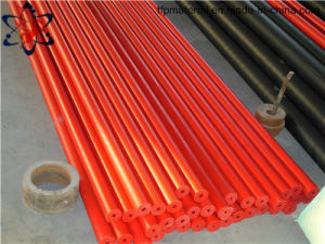 Tfp Orange Color UHMWPE Tube Manufacturer pictures & photos