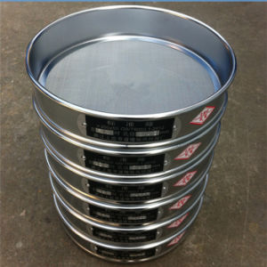 50 mm Height, 200 mm Diameter Test Sieve/Grain Sieve/Flour Sieve Shaker-60/80/100 Mesh pictures & photos