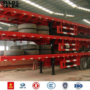 New 40 Feet Tri Axle Trailer Sale to Africa pictures & photos