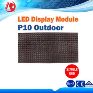 Cheap Pixel 10mm Single Color Red Outdoor LED Displays Module pictures & photos