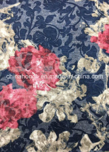 Single Jersey P/R 65/35, 130GSM, Burn-out & Printing Knitting Fabric for Lady Garment pictures & photos