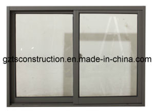 Two Tracks Cheap Price Aluminum Sliding Window pictures & photos