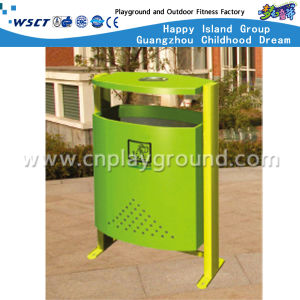 Hot Sale Outdoor Trash Can Amusement Park Waste Bin (HD-18413) pictures & photos