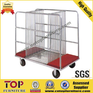 Steel Strong Glass Wheel Cart pictures & photos