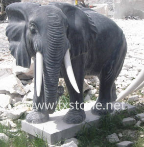 Marble Elephant Sculpture pictures & photos