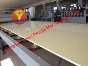 Plastic Machine-PVC Foam Board Extrusion Machine (80/156) pictures & photos