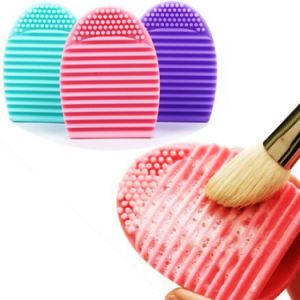 Silicone Cleaning Cosmetic Makeup Brush Egg pictures & photos