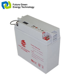 12V17ah Deep Cycle Valve Regulated Lead Acid Battery for UPS pictures & photos