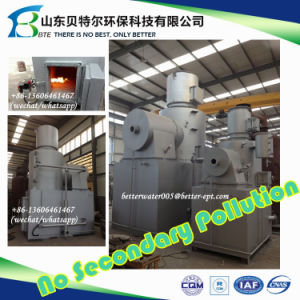 Two Chambers Medical Waste Incinerator, High Temperature Incinerator pictures & photos