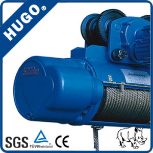 Alibaba China Manufacturer High Quality 1ton Electric Rope Hoist pictures & photos