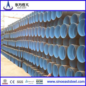 Hot Sale Large Diameter HDPE Double-Wall Corrugated Pipe pictures & photos